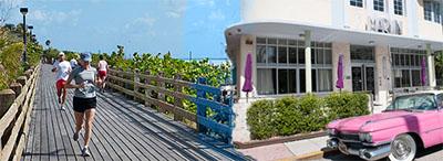 Boardwalk & Art Deco District South Beach Miami