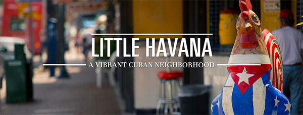 Little Havana in South Miami Florida