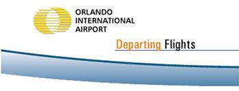 MCO International Airport Departures