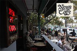 The News Café South Beach Miami