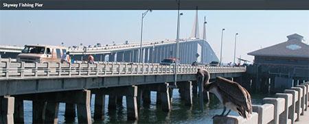 Skyway Bridge Tampa Fishing Pier